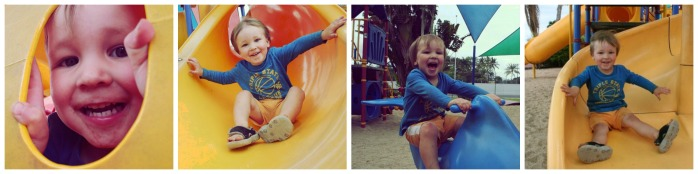 Coconut Playground Collage