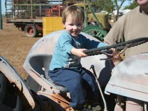 Riley the farm boy