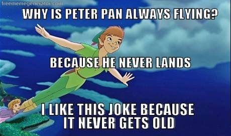 why-is-peter-pan-always-flying-81172
