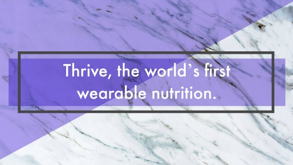 What the heck is thrive you ask.